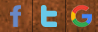 homepage header - social media